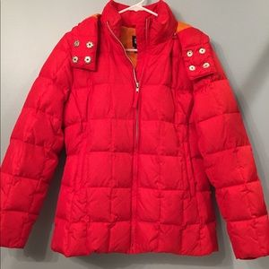 Gap quilted/puffer DOWN coat size small